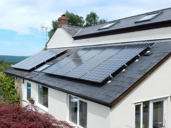 Kyocera Solar panels Installed in Lydney