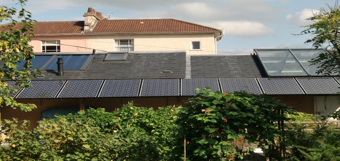 Generating Renewable Electricity Solar Panels Installed