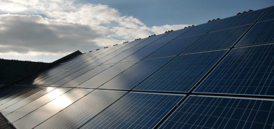 Renewable Energy in the form of Solar PV installed on community building