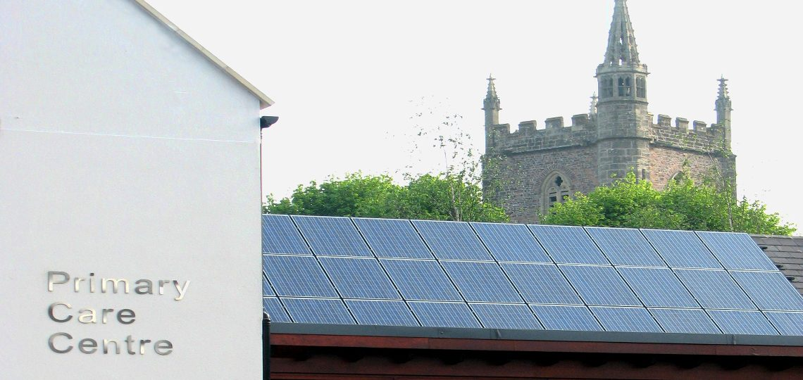 Solar PV System at Westbuty-on-Trym GP Surgery, Bristol