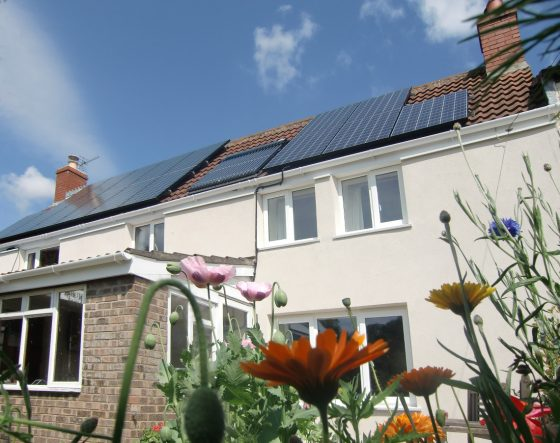 solar pv installation combined with solar thermal