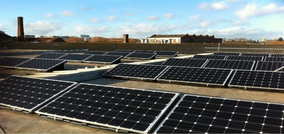 solar photovoltaic system commercial installation