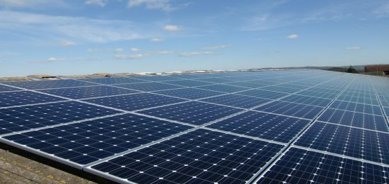 Solar array installed at Tortworth Estate