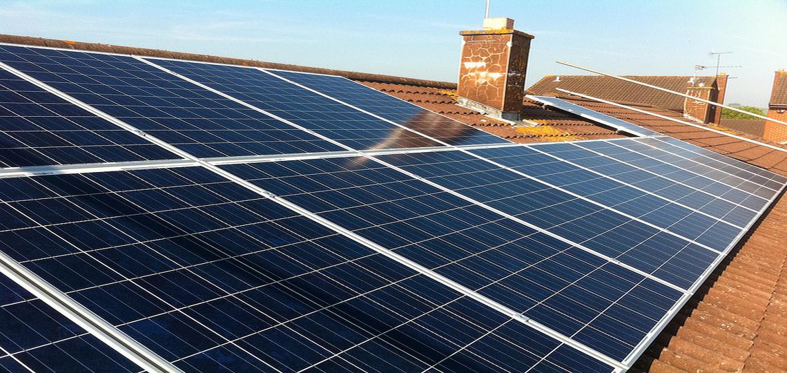 rec solar panels installed with fronius inverter in keynsham by ecocetera. Black Bedroom Furniture Sets. Home Design Ideas