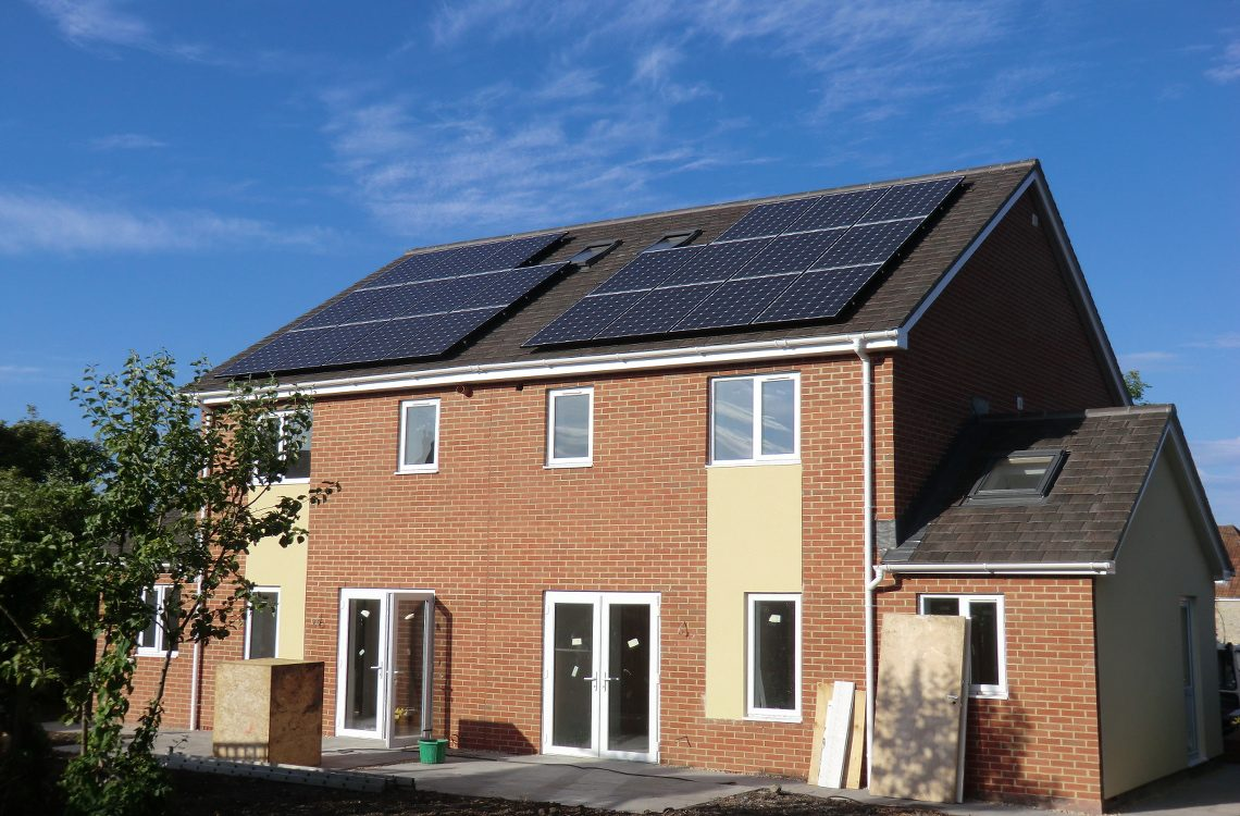 Solar PV with iBoosts for New Build Homes