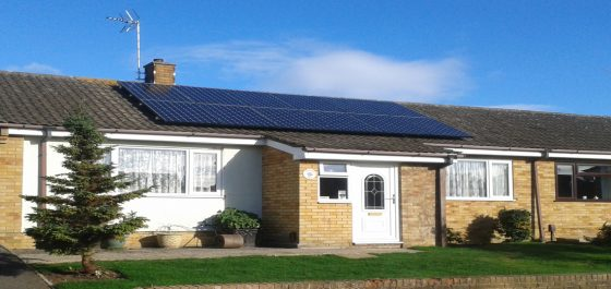 Sunpower Solar Panels Installed by Ecocetera