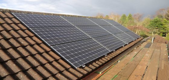 Solar Installation option to extend Panasonic HIT Solar Panels