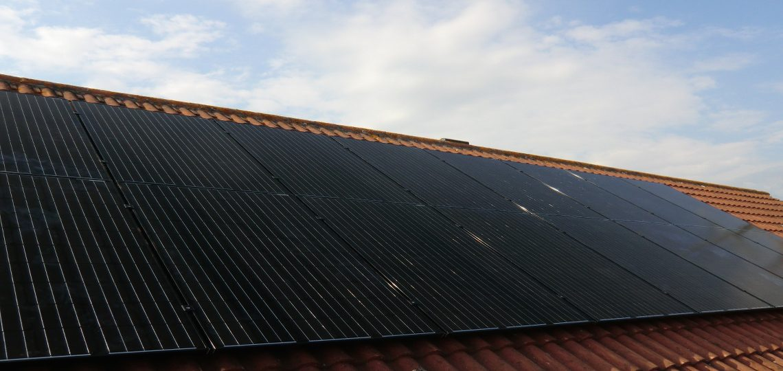 black lg solar panels with sma inverter installed by ecocetera. Black Bedroom Furniture Sets. Home Design Ideas