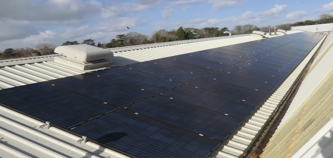 Large Solar PV System for Businesses