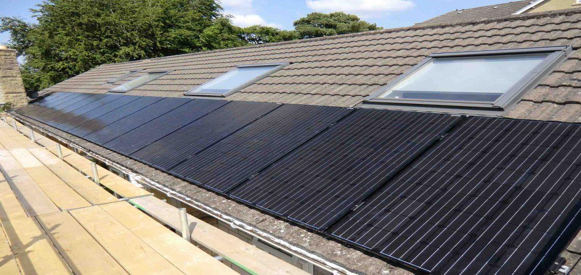 LG Black Solar Panels