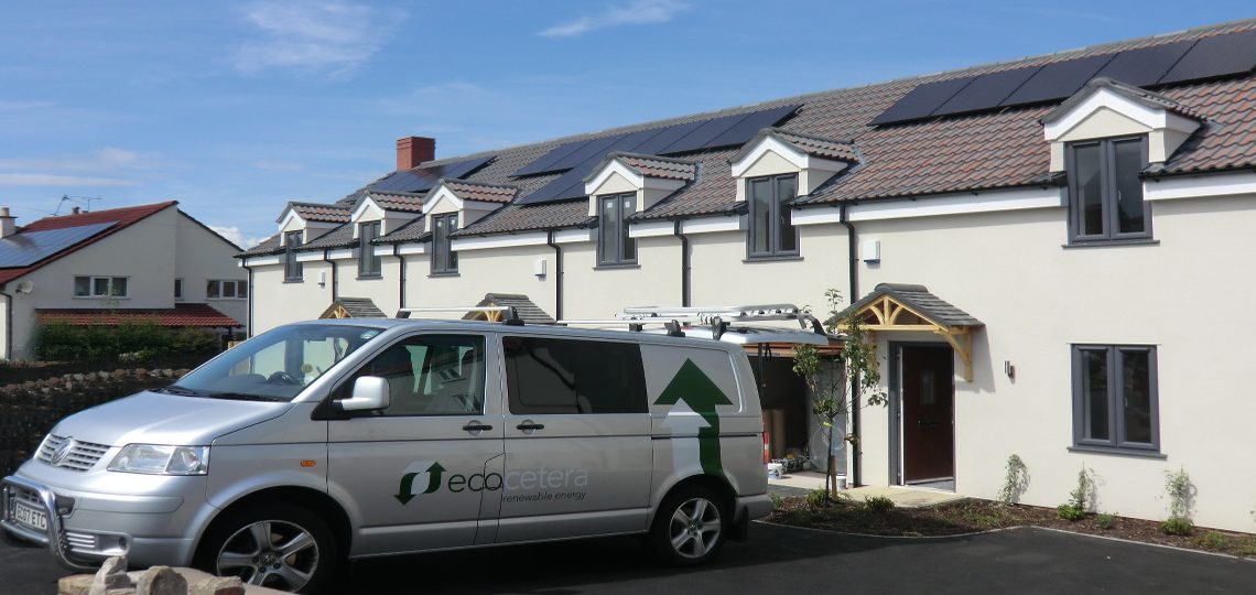 New build solar installations, Nailsea