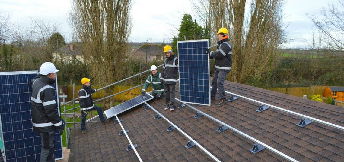Solar panel YouGen installer