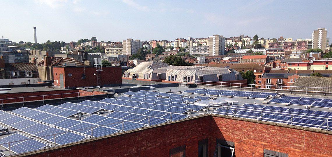 Solar pv installed