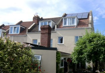 Solar PV installation, Bristol